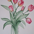 Pink Tulips by Phyllisa Christian