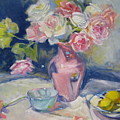Pink Vase by Susan Jenkins