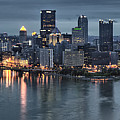 Pittsburgh Skyline 2 by Wade Aiken
