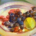 Platter Of Fruit by George Malek