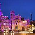 Plaza De Cibeles In Madrid by Artur Bogacki