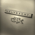 Plymouth Belvedere Gtx Fender Emblem Badge by Gordon Dean II