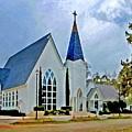 Point Clear Alabama St. Francis Church by Michael Thomas