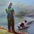 Pointin Fish by Vicki Brevell