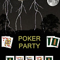Poker Party  Poker Cards by Eric Kempson