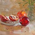 Pomegranates by Ylli Haruni