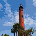Ponce Inlet Light by Allan  Hughes
