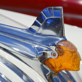Pontiac Hood Ornament by Larry Keahey