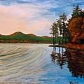 Pontoosuc Lake Pittsfield Ma by William Tremble