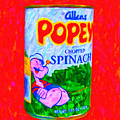 Popeye Spinach by Wingsdomain Art and Photography