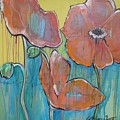 Poppies 3 by Laurie Maves ART
