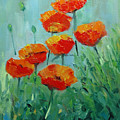 Poppies For Sally by Glenn Secrest