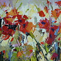 Poppies by Yvonne Ankerman
