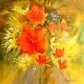 Poppy Bouquet  by Madeleine Holzberg
