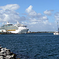 Port Canaveral In Floirda by Allan  Hughes