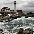 Portlandhead Lighthouse by Nancie DeMellia