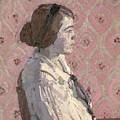 Portrait In Profile by Harold Gilman