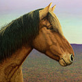 Portrait Of A Horse by James W Johnson