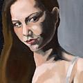 Portrait Of Amanda by Stephen Panoushek