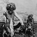 Portrait Of An Indian Fakir by Everett