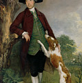 Portrait Of George Venables Vernon by Thomas Gainsborough