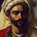Portrait Of Mustapha by Anne Louis Girodet de Roucy-Trioson
