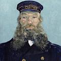 Portrait Of Postman Roulin by Vincent van Gogh