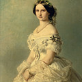 Portrait Of Princess Of Baden by Franz Xaver Winterhalter