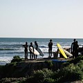 pr 129 - Santa Cruz Surfers by Chris Berry