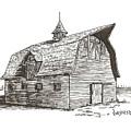 Prairie Barn by Rick Stoesz