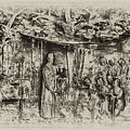 Prayer Meeting At Jamestown by Bill Cannon