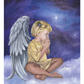 Praying Angel by Anne Kushnick