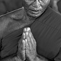 Praying Monk by Stefan Breton