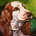 Precious Spaniel by Susan A Becker