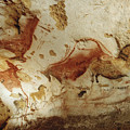 Prehistoric Artists Painted Robust by Sisse Brimberg