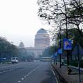 President's House At New Delhi by Padamvir Singh