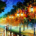 Prespective Of The Night by Leonid Afremov