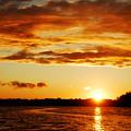 Pretty Orange Sky by Madelin Zaycheck
