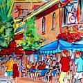 Prince Arthur Street Summer by Carole Spandau