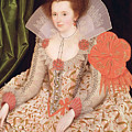 Princess Elizabeth The Daughter Of King James I by Marcus Gheeraerts