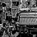 Printing Press by Kenneth Mucke