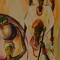 Procession by Alfred Awonuga