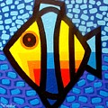 Psychedelic Fish by John  Nolan