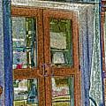 Pueblo Downtown--thatcher Building Door by Lenore Senior