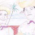 Puertorican Friends by M Valeriano