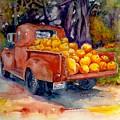 Pumpkin Truck by KC Winters