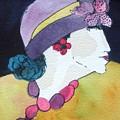 Purple Hat by Jane Ferguson