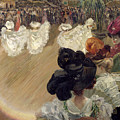 Quadrille At The Bal Tabarin by Abel-Truchet