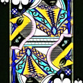 Queen Of Spades - V2 by Wingsdomain Art and Photography