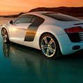 R8 On The Beach 2 by Rory Trappe